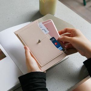 Hộ chiếu gói vé hộ chiếu giữ tài liệu du lịch lưu trữ túi dễ thương nam giới và phụ nữ gói thẻ đa chức năng giấy chứng nhận túi bảo vệ bìa