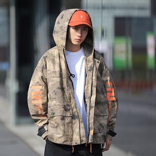 DUMB春季新款美式国潮工装街头夹克