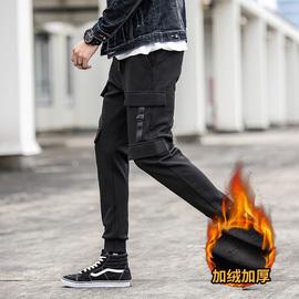 2018冬季时尚男士韩版休闲工装裤