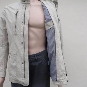 EtamHomme thương hiệu giải phóng mặt bằng (không cắt) Mùa Xuân nam cotton thoải mái lạc đà của nam giới áo khoác 4089