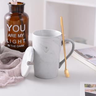 陶瓷杯子马克杯火烈鸟咖啡杯子礼盒