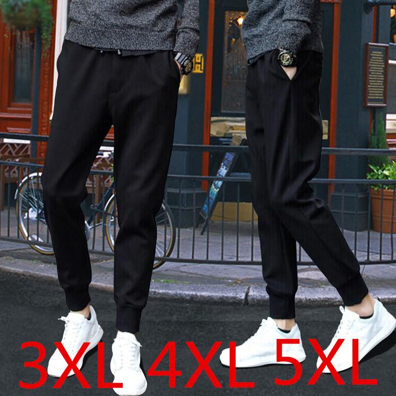 2018 mùa hè người đàn ông mới của khô nhanh quần harem mỏng thanh niên Hàn Quốc phiên bản của xu hướng lỏng kích thước lớn feet quần âu