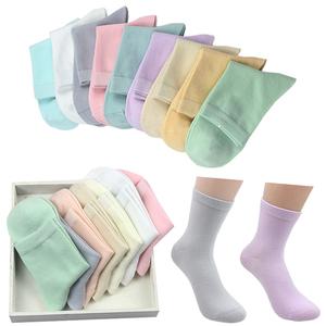 5 đôi vớ vớ ống của phụ nữ bông vớ của phụ nữ mùa xuân và mùa hè phần dài bông ấm khử mùi tinh khiết trắng không xương vớ cotton
