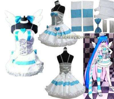taobao agent cosplay anime game garter stocking angel Stocking turn into angel costume free shipping custom