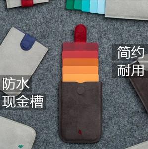 DAX cascading kéo thẻ túi người đàn ông của siêu mỏng mini multi-card thẻ kinh doanh thẻ ngân hàng thiết lập đơn giản ladies coin purse