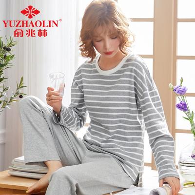 【俞兆林】韩版甜美纯棉睡衣套装