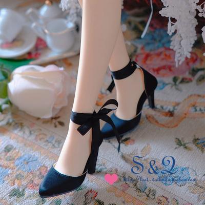 taobao agent Two-wear lace-up silk high heels BJD DD SD GR 1/3 big female XAGA AS SD16 DZ spot