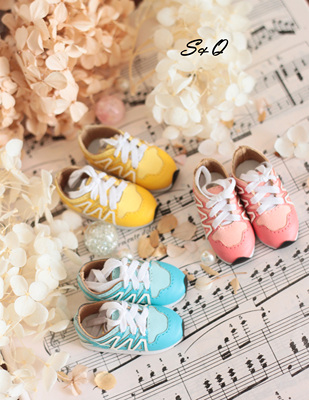taobao agent Daily wave sneakers BJD Salon SD doll shoes Giant Baby MDD 4 points 6 points 3 points
