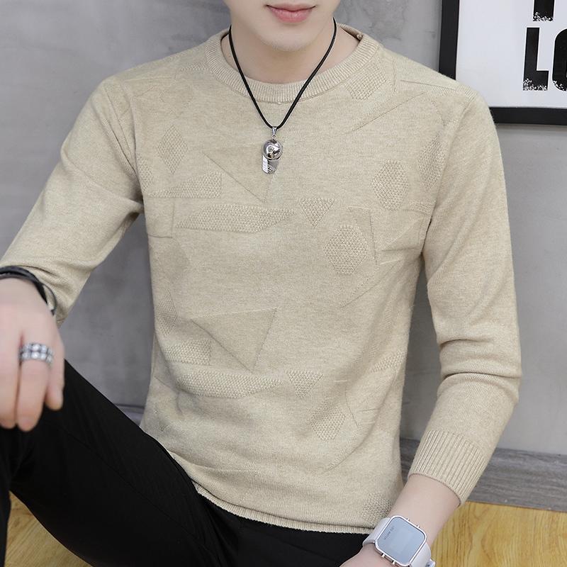 男士毛衣韩版针织衫打底衫上衣服男装限100000张券