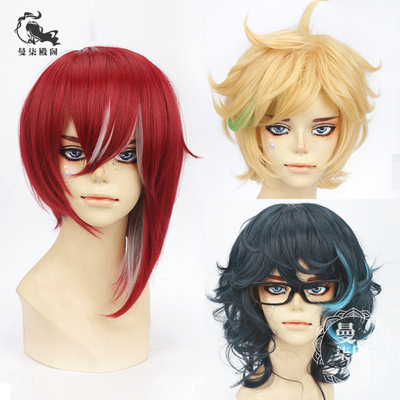 taobao agent Free shipping ES Idol Dream Festival Highlighting Group Switch Chunchuan Chou Nissen Natsume Aoba Spin COS Wig