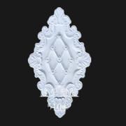 Jianya đồ nội thất Châu Âu phụ kiện cửa trượt cửa tủ nhựa hoa phụ kiện nhựa khắc tấm trang trí đường dây thắt lưng mềm góc hoa