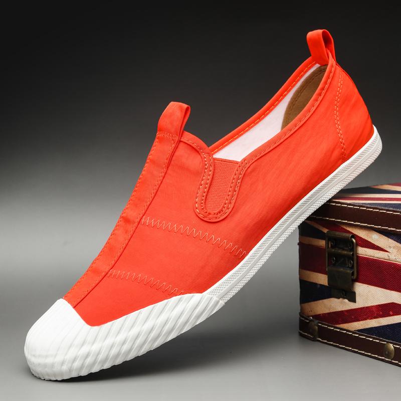 Giày nam mùa hè giày vải thoáng khí 2020 giày mới - Plimsolls