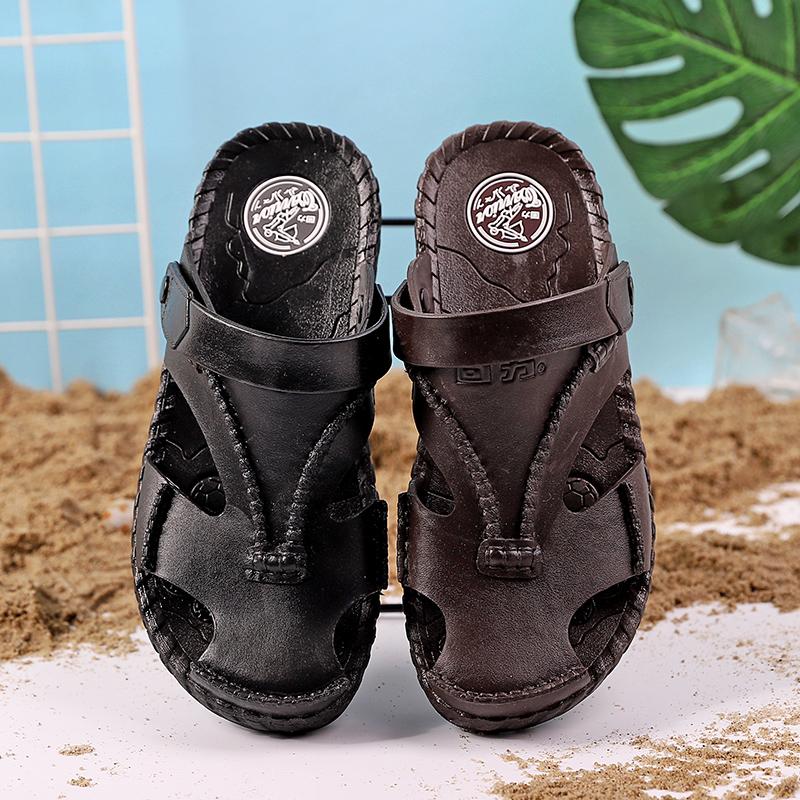 2019凉鞋男夏季男士拖鞋 新款男士拖鞋沙滩鞋休闲防滑凉鞋男