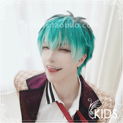 taobao agent CCKIDS [DRB Hypnosis Microphone] White Bakelite ssr White Bakelite COS Wig Ear Clip