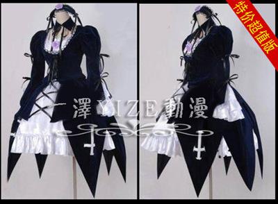taobao agent cosplay costume/Rose Maiden Mercury lamp costume cos costume