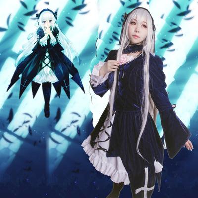 taobao agent Rozen Maiden cosplay costume Mercury lamp cos costume spot customization