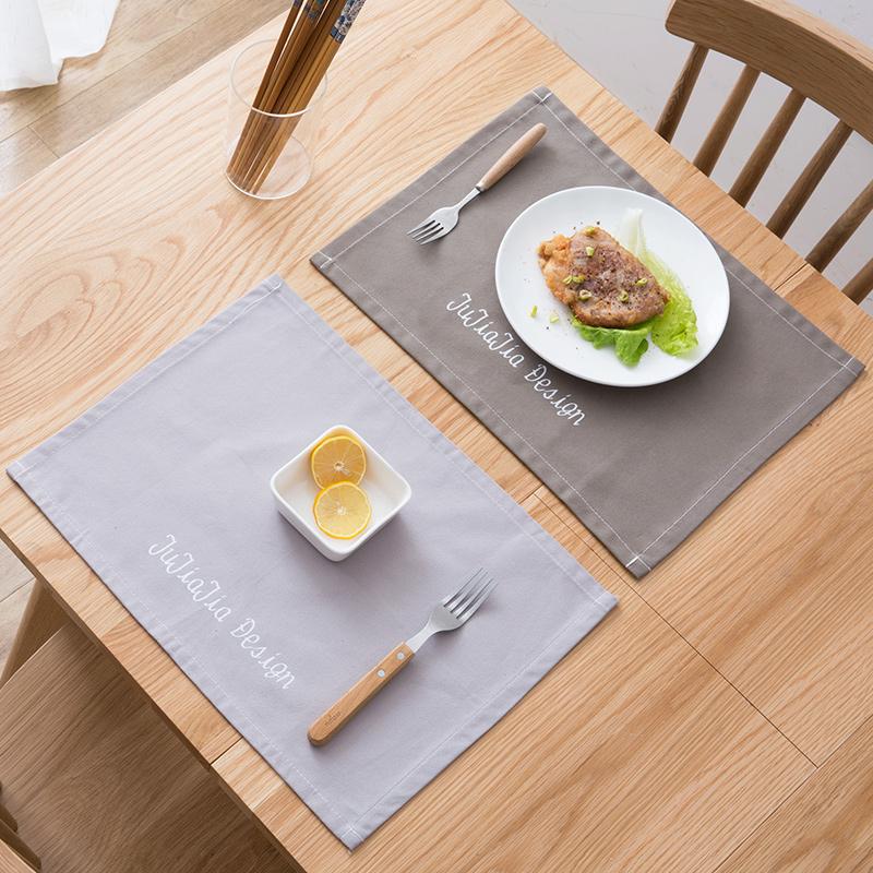 Nhà nhà dày vải thực phẩm Phương Tây mat Châu Âu bảng mat dày bông và vải lanh chống nóng cách nhiệt pad bảng vải ra mat bát mat