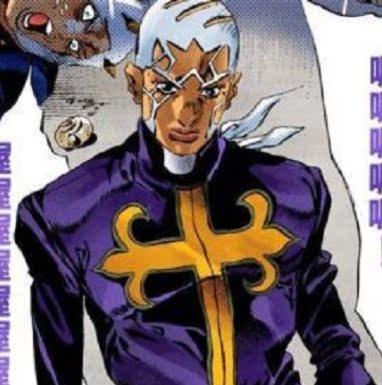 taobao agent Rabbit dimension JOJO's bizarre adventure, sea of stone, priest Pucci, cos wig, complex color selection