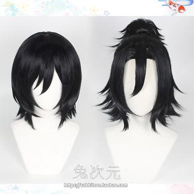 taobao agent Rabbit dimension Hori and Miyamura Miyamura Isumi cos wig short hair ponytail double ponytail character modeling