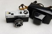 Đức certo KN 35 nhựa rangefinder phim máy ảnh máy ảnh cổ điển với holster 136 phim