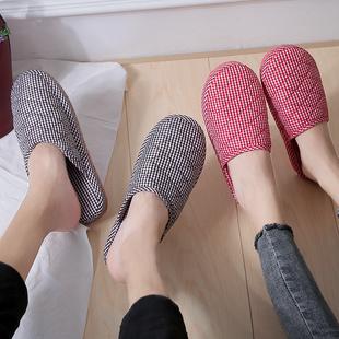 【爆款反季大促】情侣居家家用防滑棉拖鞋