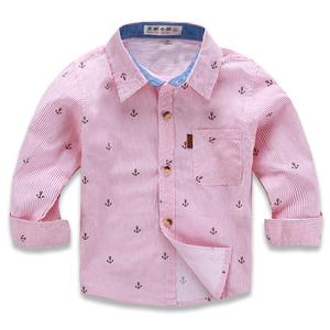 Trẻ em bông áo sơ mi mỏng phần mùa xuân và mùa thu bé trai dài tay áo bé bé điều hòa không khí áo sơ mi mùa hè áo khoác mặt trời quần áo bảo hộ