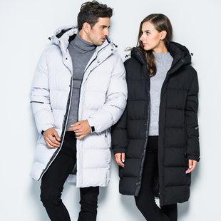 2018 на открытом воздухе лесополоса большой мужской одежды женский длина хлопок Одежда закрытый зима