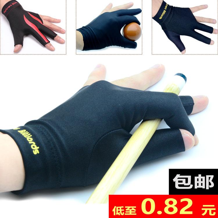 Bida găng tay ba ngón tay găng tay bida găng tay đặc biệt ngón tay chỉ billiard găng tay trái và tay phải mã nam và nữ phổ