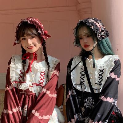 taobao agent Mori girl sankousan original lolita chanting angel book cloth hair band two groups, headdress Japanese girl
