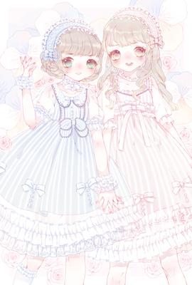 taobao agent Jinpingtang series summary NyaNya original Lolita dress
