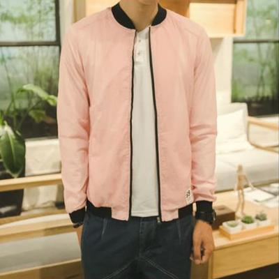 [Full 59] 2018 mùa hè mới junior sinh viên triều mặt trời bảo vệ quần áo đứng cổ áo xu hướng giản dị áo khoác Áo khoác