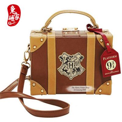 taobao agent New Harry Potter Hogwarts Magic Campus Lolita Handbag Travel Small Box Diagonal Shoulder Bag