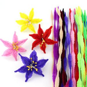 Màu tóc gốc twist bar bold lượn sóng top trẻ em mẫu giáo sáng tạo handmade diy vật liệu sản xuất