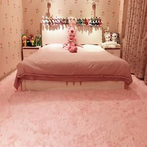 客厅家用丝毛小地毯卧室床边长方形沙发地垫可定制房间满铺大地毯