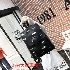 新款雙肩包女韓版小學生初中生中學生書包高中生旅行背包學院風