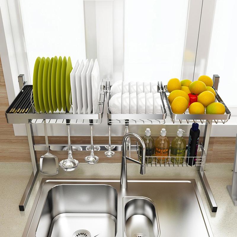 НАНА 304 из нержавеющей стали, раковина, раковина, раковина, сливная стойка, стеллаж для посуды, сливная корзина, кухонные принадлежности