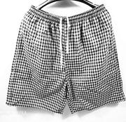 Mùa hè phụ nữ người đàn ông quần pajama bông đồ ngủ bông gạc đôi giản dị nhà quần những người yêu thích phần mỏng nhà quần