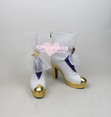taobao agent League of Legends LOL Star Guardian Magical Girl Storm Fury Wind Girl Jana Cosplay Shoes