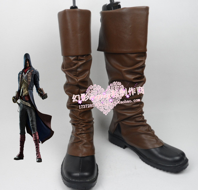 taobao agent Number 666 Assassin's Creed Revolution Arno Arno Victor Dorian cosplay shoes