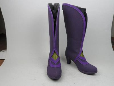 taobao agent King of Glory Zixia Fairy Luna cosplay shoes custom-made cos shoes custom-made pictures