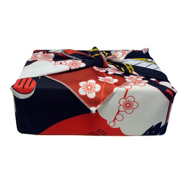 日式和风便当布包袱皮风吕敷包裹节日礼盒包装布方巾桌布定制70cm