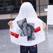 Quần áo trẻ em cậu bé chống nắng quần áo mùa hè 2018 mới của Hàn Quốc phiên bản của trẻ em lớn trẻ em ngoài trời quần áo phần mỏng áo thoáng khí thủy triều