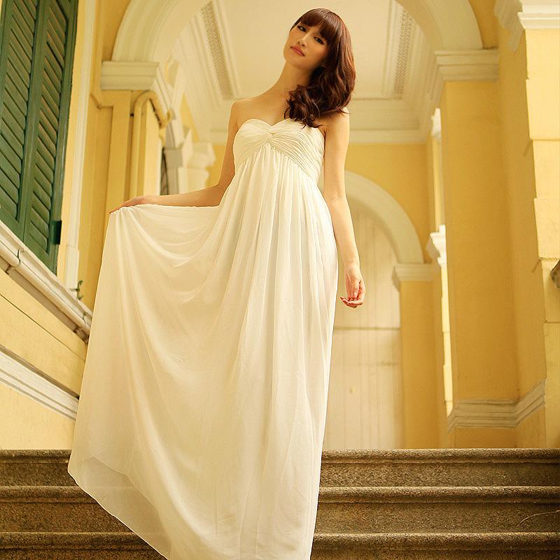 Ben noto serie di dea greca reggiseno top sexy sposa abito da sposa  WM87