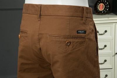 Trong nước duy nhất cắt tiêu chuẩn quần âu mùa xuân và mùa thu hoang dã thanh niên quần âu đơn giản overalls quần của nam giới Quần làm việc