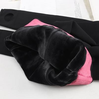 心宇正品1731 加绒加厚打底裤3000d连裤袜保暖裤女内穿宽松冬季