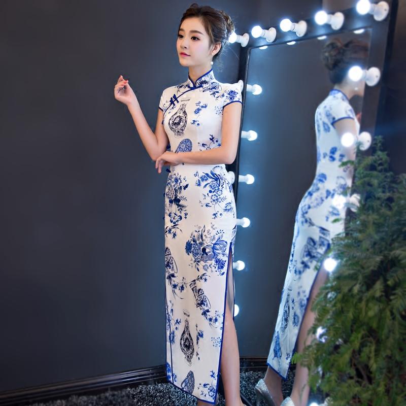 短款修身旗袍 时尚性感少女(六) - 花雕美图苑 - 花雕美图苑