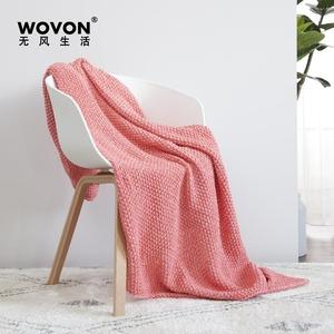 Cuộc sống không có gió ins Bắc Âu đan dòng chăn sofa giải trí chăn giường đuôi chăn sofa chăn chăn mền