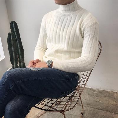 Ông Lu San Hàn Quốc phiên bản của cao cổ áo Ma Haimao dày ulzzang của nam giới Harajuku phong cách áo len mùa đông áo len nam