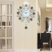 创意钟表挂钟客厅现代简约大气个性表家用时尚艺术装饰时钟挂墙