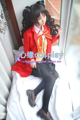 taobao agent Spot Heart Margin cosplay costume Fate stay night Tosaka Rin Ma Tongzakura school uniform uniform
